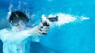 Что, если выстрелить из пистолета под водой?