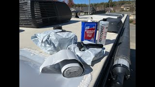 Installing Eterna Bond Tape to All Travel Trailer Roof Seams & Lots of Helpful Tips (Step by Step)