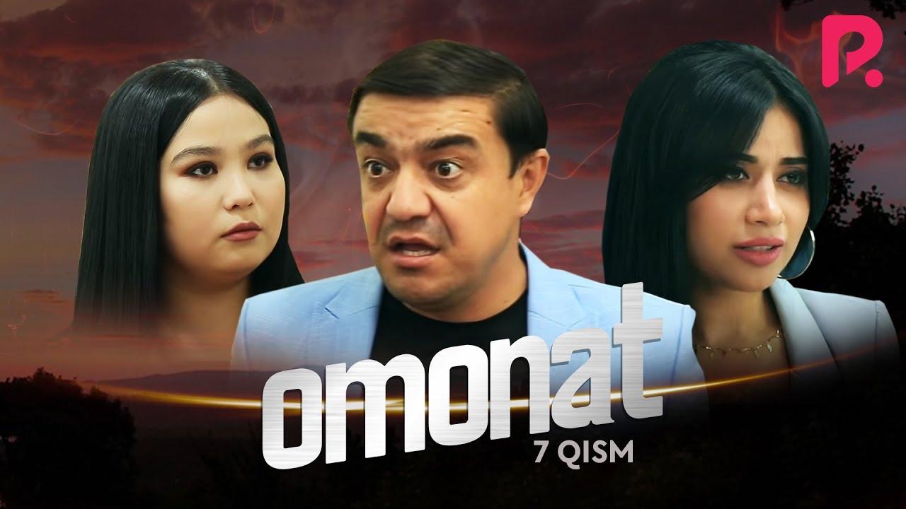 Omonat (o'zbek serial) | Омонат (узбек сериал) 7-qism #UydaQoling