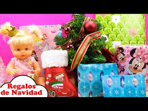 Regalos de NAVIDAD de la Bebé Nenuco Princesa Cuca | Juguetes Sorpresa de Papá Noel para la Bebé