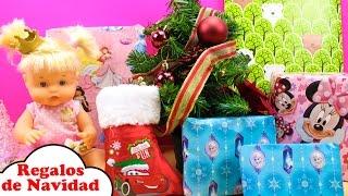 Regalos de NAVIDAD de la Bebé Nenuco Princesa Cuca | Juguetes Sorpresa de Papá Noel para la Bebé thumbnail