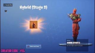 *NEW* HYBRID STAGE 2 UNLOCKED on Fortnite Battle Royale Season 8
