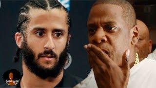 Colin Kaepernick Shades Jay Z! Jay Secretly Planning To Hire Him Back Into The NFL!?