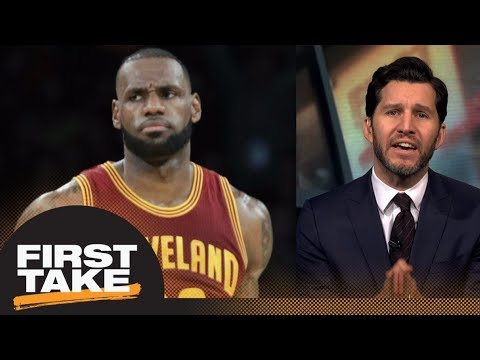 Stephen A. and Will Cain debate LeBron James' legacy if he leaves Cavaliers | First Take | ESPN