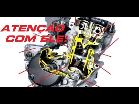 Como amaciar o motor de uma moto
