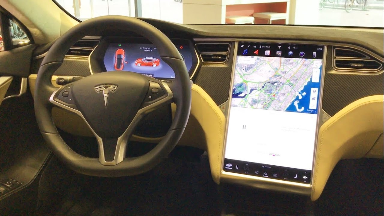 Tesla 2017 interior