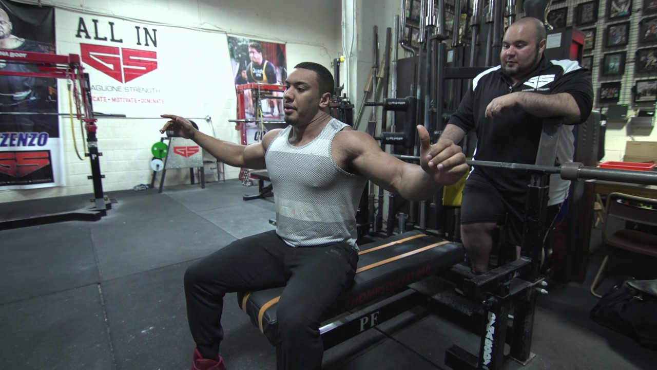 The best Bench Press Tips with Larry Williams