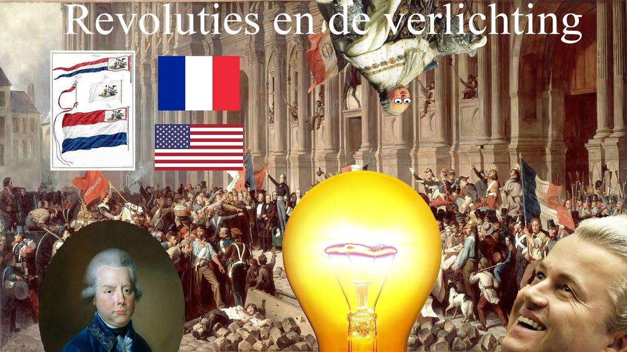 Gewoon geschiedenis - Verband tussen verlichting en revoluties van ...