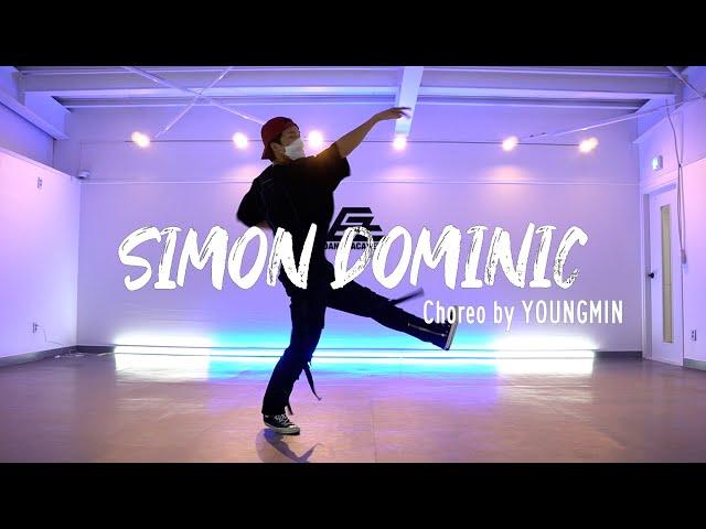 EZDANCE I 서인천점 I 이지댄스 I Simon Dominic - 'Simon Dominic (Original Version)' CHOREOGRAPHY by YOUNGMIN