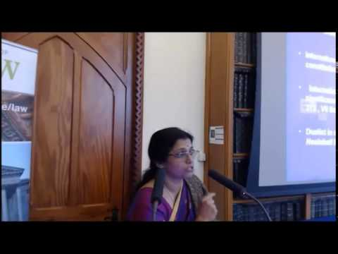 Professor Shashikala Gurpur, SLS, on Constitutional Law, Globalisation and Human Rights in India