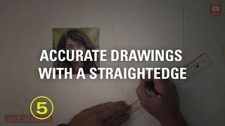 "Accurately Lay Out a Drawing Using ""Triangulation"" (Drawing Accurately #2)"