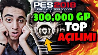 300.000 GP VE BOX DRAW TOP AÇILIMI !! PES 18 MOBILE
