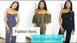 Fashion Nova Jumpsuit Haul (Try On) | Small