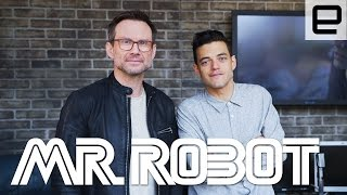 Learn more about Mr. Robot: http://www.engadget.com/2016/03/14/mr-robot-sxsw-interview/ Read More: http://www.engadget.com Get More Engadget: ...