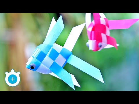 How To Make A Ribbon Fish