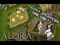 A REAL From Scratch Series! - ALORA RSPS 600+ ONLINE! - (Iron Man) Ep. 1