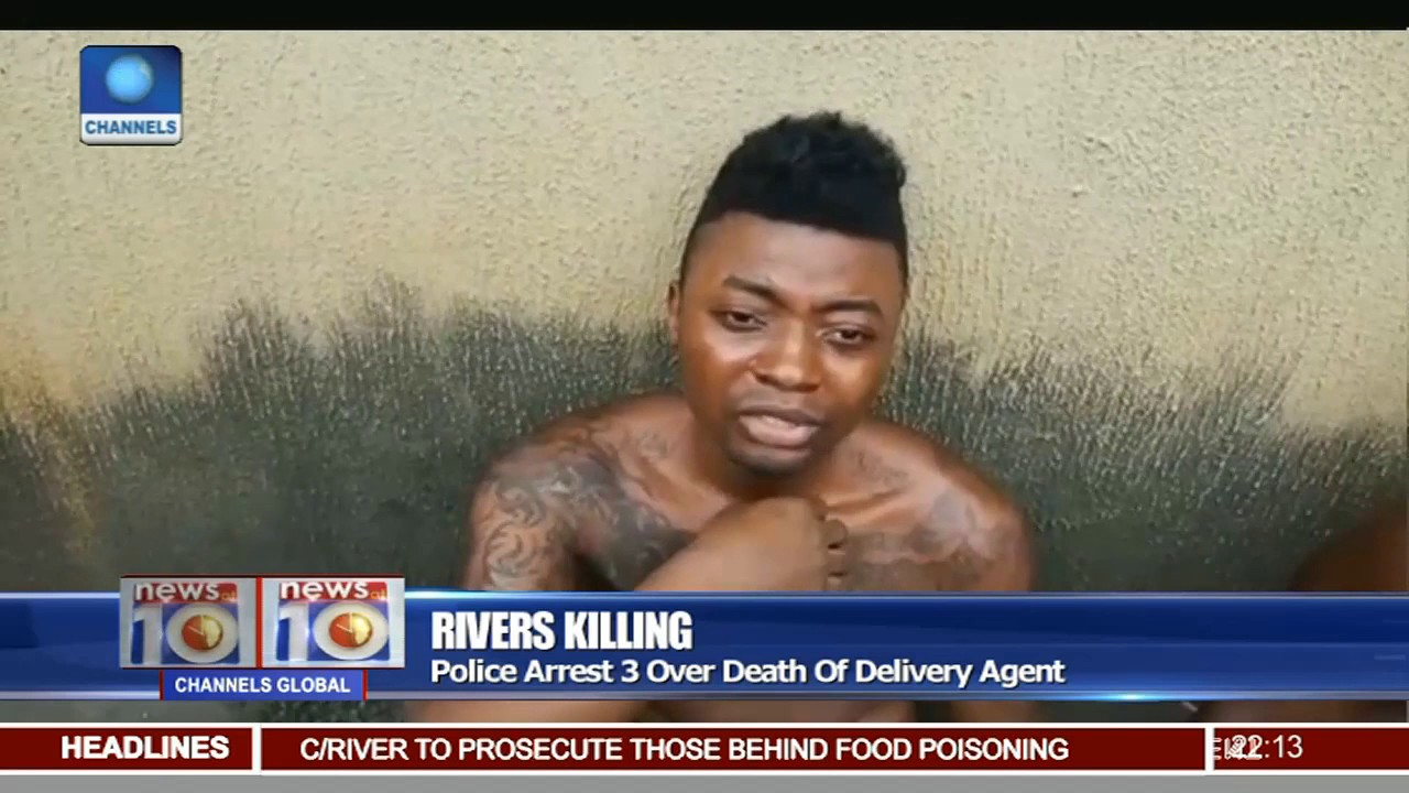 Of 3 Death Delivery Youtube Agent Rivers Police Killing Arrest Over -