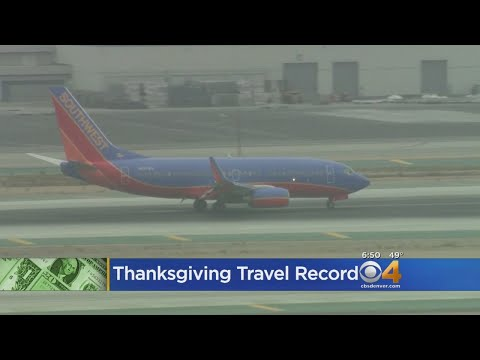 JJ & Nina - This will be the most traveled Thanksgiving by air ever, and DIA...