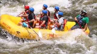 Whitewater Rafting Upper Pigeon River 2015