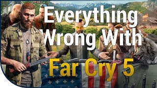 GAME SINS | Everything Wrong With Far Cry 5