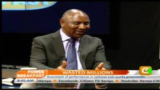 Power Breakfast: Wasted Millions