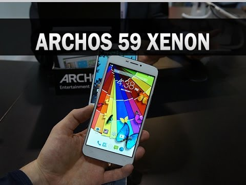 Archos 59 Xenon, prise en main au CES 2015 - par Test-Mobile.fr