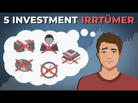 5 große Investment-Irrtümer von Anfängern | Finanzfluss