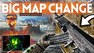 HUGE MAP CHANGES and 4 New Guns coming to Warzone Season 2!