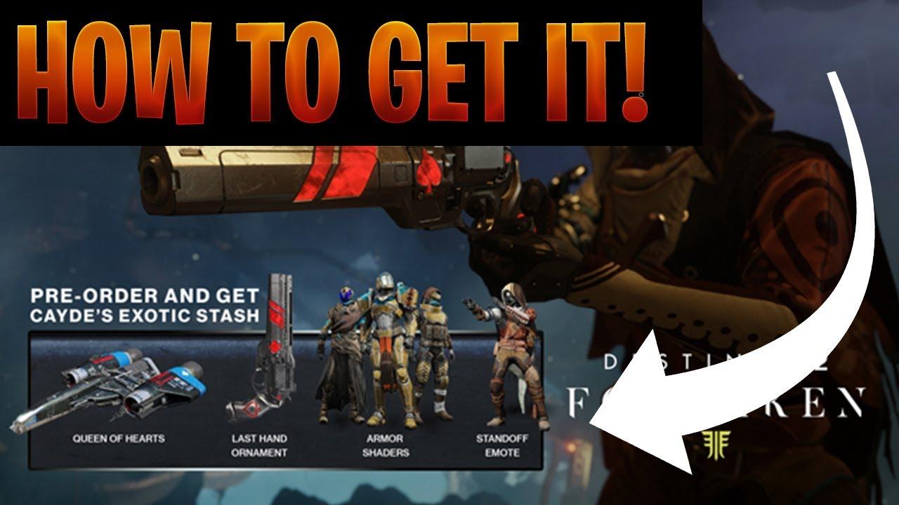35b4c45b4fc How To Unlock Cayde s Exotic Stash Inside Forsaken!    iNSpiRE Gaming