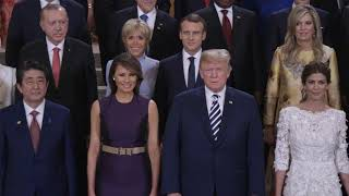 First Lady Melania Trump at the G20 Summit in Argentina