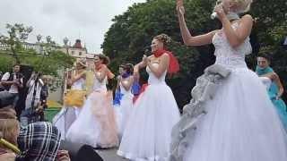 Парад НЕВЕСТ - 2013 в Минске! 9ч.(19). Беларусь! Parade of Brides - 2013 in Minsk!