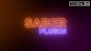 Saber Plugin (Texto Neón) - Tutorial After Effects [Español]