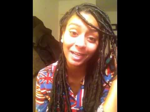 How To Get Fake Dreads For Natural Hair Youtube