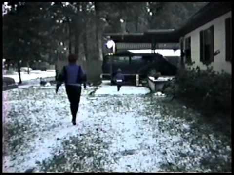 Snow in Jacksonville 1989
