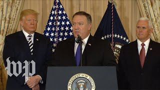 Watch Mike Pompeo\'s first speech as Secretary of State