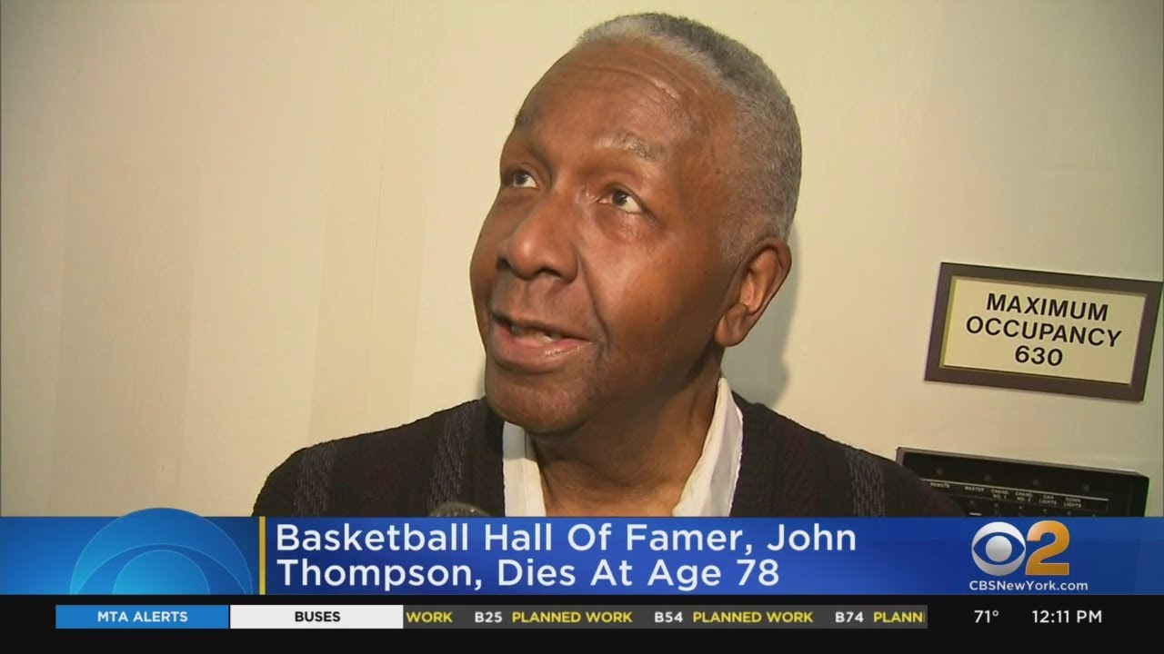 John Thompson, Hall of Fame Basketball Coach, Dies at 78