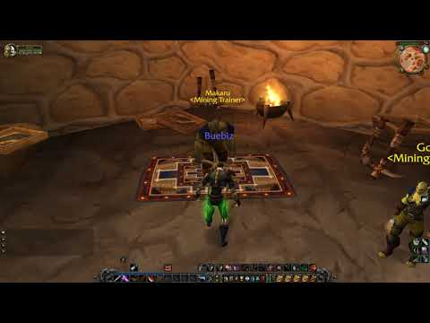 Orgrimmar Mining Trainer, WoW Classic