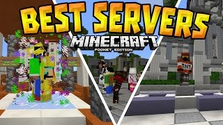 top 5 servers in mcpe 0 15 6 best working servers minecraft pe pocket edition