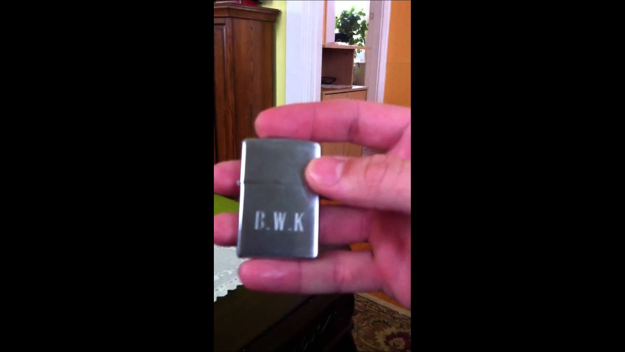 how to stop your zippo lighter from sliding out