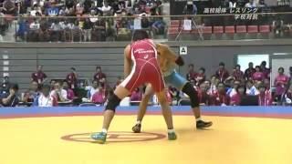 平成28年全国高校総合体育大会レスリング競技 団体戦 NHK放送