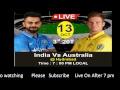 Ind Vs Aus T20 [ 13 Oct 2017 ] @ Hydrabad