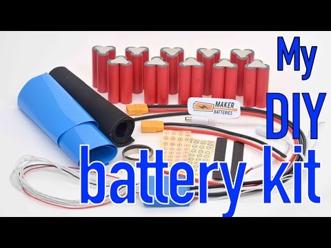 DIY 52V 10.5Ah lithium battery from a kit