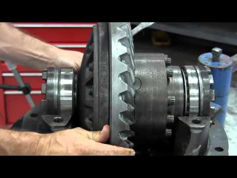 Side bearing adjustment video