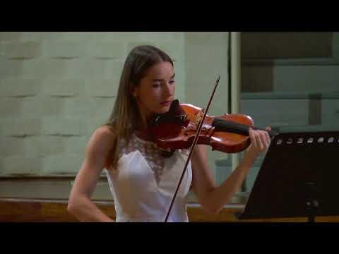 Kameliya Naydenova- violin, Michelangelo Carbonara- Piano - Grieg Sonata No.3 in C minor, op.45