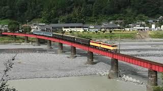 【大井川鐵道】ELかわね路号 E33+E32重連牽引