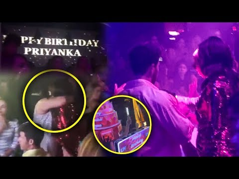 Priyanka Chopra And Nick Jonas Drink & Dance | BIGGEST Birthday Celebration