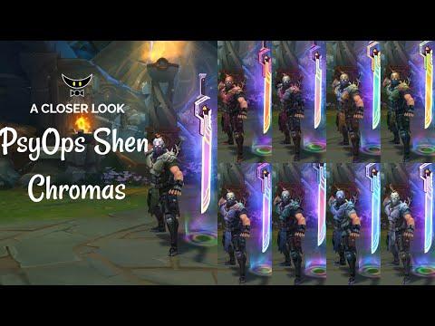 PsyOps Shen Chromas