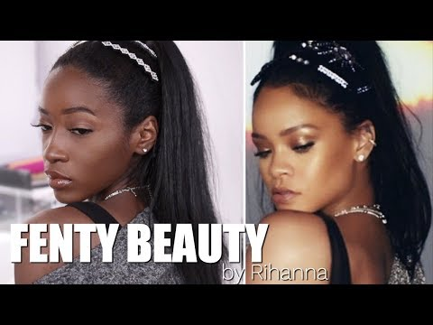 Rihanna Inspired Makeup Look ft. Fenty Beauty by Rihanna | Collection Swatches, Wear Test + Review