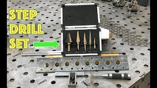 Fast Hole Pattern Layout   Featuring CO Z Step Drill Bits