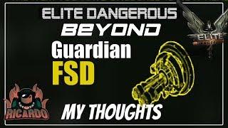 Elite Dangerous Guardian FSD booster |  elite dangerous beginners guide